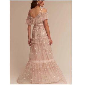 New BHLDN Needle & Thread Wyndham Gown